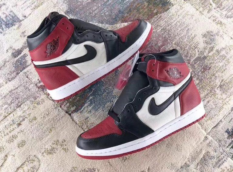 """Air Jordan I Retro OG """"Bred Toe"""" to release February 2018 – Sneaker ... 0537526a5"""