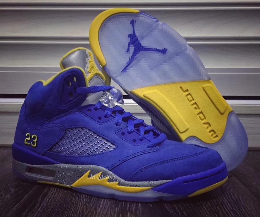"Air Jordan 5 JSP ""Laney"" – Detailed Look – Sneaker Shop Talk 808927ac802"