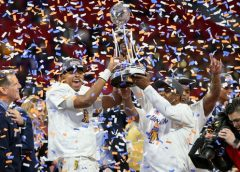 North Carolina A&T defeats Alcorn State 24-22 to win Celebration Bowl