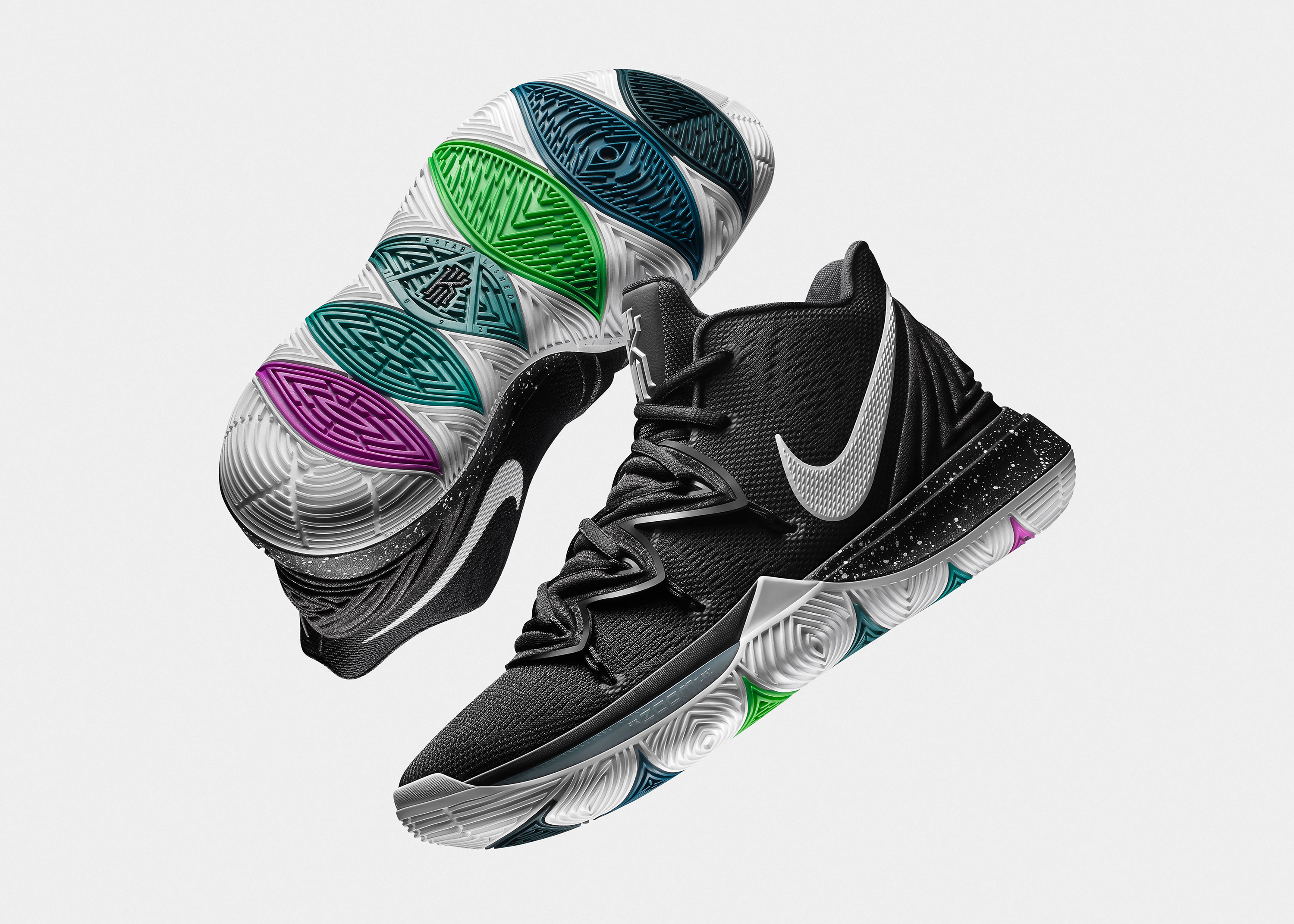 huge discount 993da e92bc The Kyrie 5 Officially Unveiled