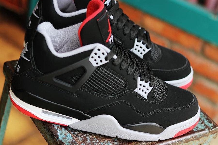 Black/Red Air Jordan 4 to drop May 11