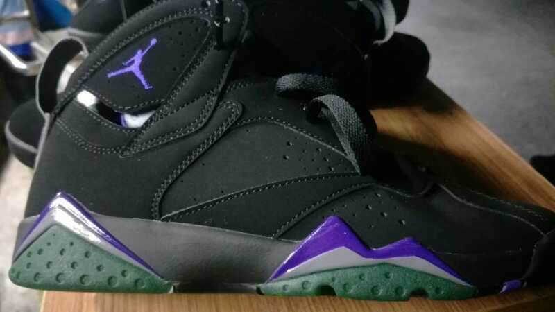 "First Look  ""Ray Allen"" Air Jordan 7 – Sneaker Shop Talk 9cf1c0e71909"