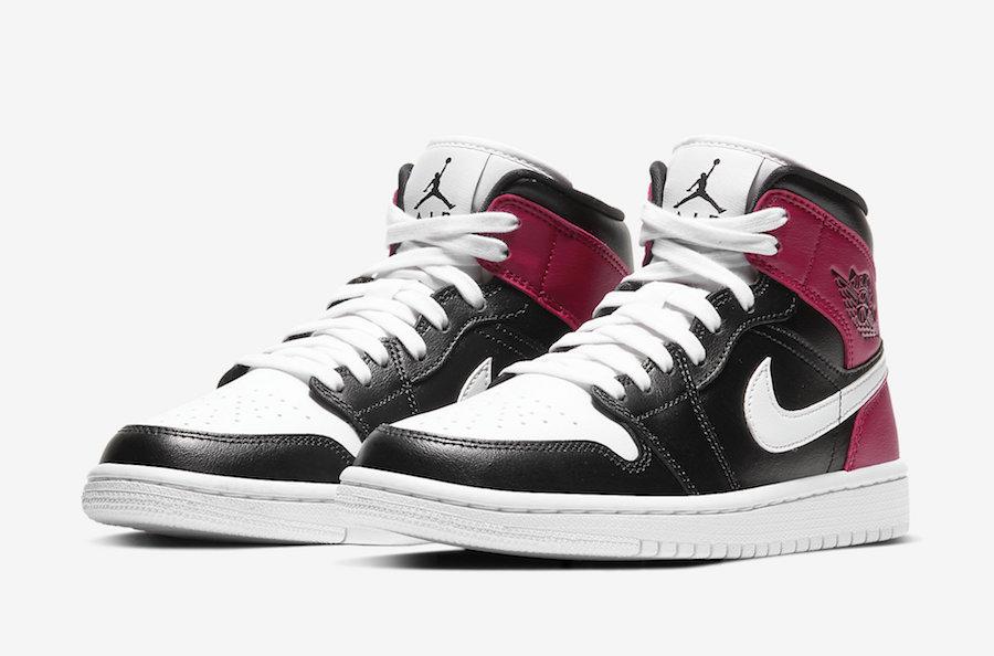 "Noble Red"" Women's Air Jordan 1 Mid on the way   Sneaker ..."