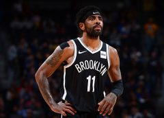 Kyrie Irving listed as questionable for Monday game against Bucks