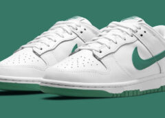 White and Green Nike Dunk Low coming soon